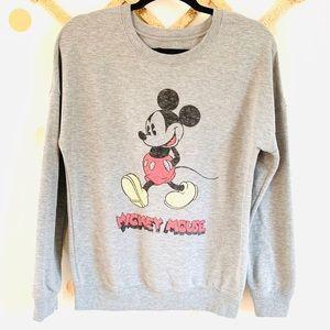 •Disney• Mickey Mouse Crewneck Sweatshirt